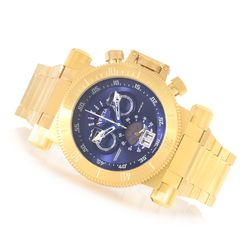 Invicta Men's Coalition Forces Stainless Steel Bracelet Watch - Blue