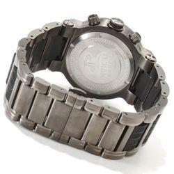 Invicta Men's 46mm Ocean Reef Quartz Chronograph Bracelet Watch - Gunmetal