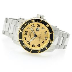 Invicta Men's 48mm Scuba Quartz Stainless Steel Bracelet Watch - Goldtone