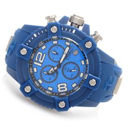 Invicta Men's 50mm Octane Swiss Chronograph Watch with 1 Dive-Case - Blue