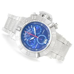 Men's 50mm Subaqua Noma III Swiss Quartz Chrono Bracelet Watch - Blue