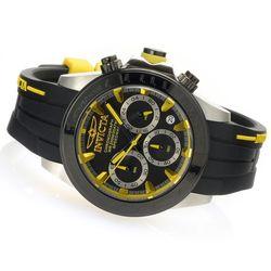 Invicta Men's 40mm Speedway Quartz Chronograph SS Silicone Strap Watch