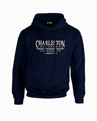 NCAA Charleston Southern Buccaneers Classic Seal Long Sleeve Hoodie, XX-Large, Navy