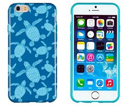 DandyCase Case for iPhone 6 Plus - Sea Turtles Pattern