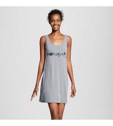 Xhilaration Women's Sleep T Shirt - Ebony - Size: Small