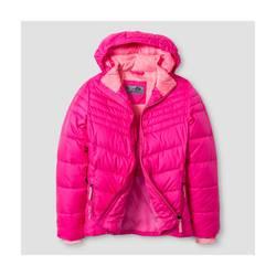C9 Champion Girl's Puffer Jacket - Pink - Size: XS