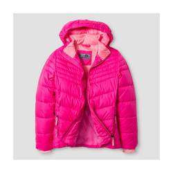 C9 Champion Girl's Puffer Jacket - Pink - Size: M