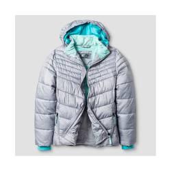 C9 Champion Girl's Puffer Jacket - Gray - Size: XS