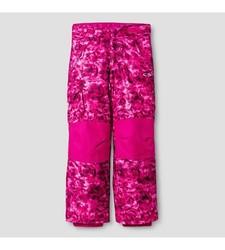 C9 Champion Girl's Snow Pants - Pink Fleck -Size: X-Large