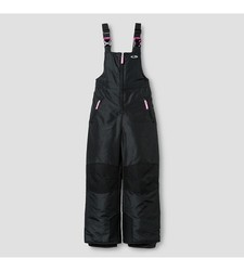 C9 Champion Girl's Snow Overall - Ebony Solid - Size: XS