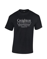 SDI NCAA Creighton Bluejays Classic Seal Men's T-Shirt - Black - Size: XXL