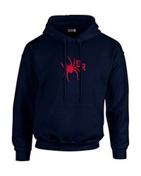NCAA Richmond Spiders Mascot Foil Long Sleeve Hoodie, XX-Large, Navy