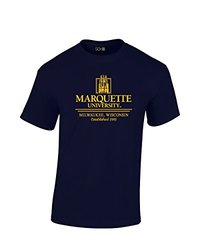 NCAA Marquette Golden Eagles Classic Seal T-Shirt - Navy - XXL