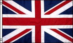 Best Flags United Kingdom Nylon EMB Outdoor Flag, 3 by 5-Feet