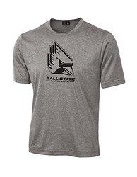 SDI NCAA Men's Ball State Cardinals T-Shirt - Sport Grey - Size: Small