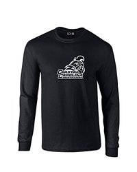 NCAA Coastal Carolina Chanticleers Mascot Foil Long Sleeve T-Shirt, Small, Black