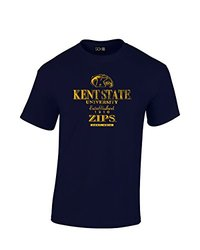 SDI NCAA Kent State Golden Flashes Vintage Men's T Shirt - Nvy - Size: XXL