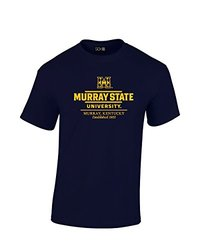 NCAA Murray State Racers Classic Seal T-Shirt, XX-Large, Navy