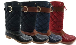 NY Vip Women's Cold Weather Boots: Cognac/size 7.5