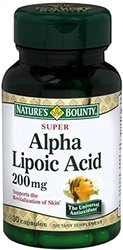 Super Alpha Lipoic Acid 200 mg Capsules 30 Capsules - 11 Pack