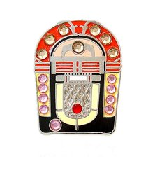 Bella Crystal Juke Box Hat Clip set
