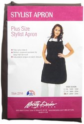 Betty Dain Women's Stylist Apron - Chocolate Brown - Size: 2X
