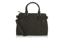 MKF Collection Julia Satchel Handbag - Grey
