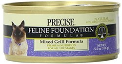 Precise Feline Mixed Grill Food for Pets - 5.5-Ounce - 24-Pack