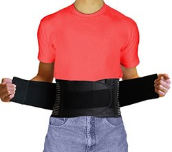 AidBrace Back Brace Support Belt - Size:XL