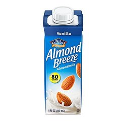 Blue Diamond Dairy Breeze Almondmilk 32 Oz 12 Pcks - Unsweetened Vanilla
