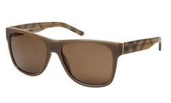 Burberry Unisex Sunglasses - Brown Frame/Brown Lens