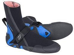 NP Surf Mission Round Toe 5mm Wetsuit Water Boot - Black/Blue - Size: 12