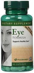 Pharmanex Nu Skin Eye Formula for Healthy Eyes - 60 Capsules