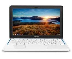 """HP 11-1101 11.6"""" Chromebook 2GB 16GB Chrome OS - White (F2J07AA#ABA)"""