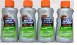 Right Guard Total Defense - 5, 5-in-1 Deodorizing Body Wash, Refreshing With Electrolytes, 2 Fl. Oz. (4 Pack Value Bundle)