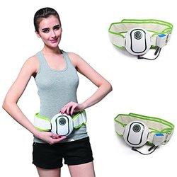E-bestrechargable Mini Slimming Massager Belt,fat Burner Waist Massager Belt ;Arm Thighs Abdomen Vibration Fitness Belt;multifunctional Mini Slimming Belt with Rechargable High Capacity Lin-ion Battery