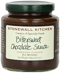 Stonewall Kitchen Sauce Bittersweet Chocolate 12.5 Ounce
