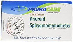 Primacare Aneroid Sphygmomanometer with Adult-Size Cuff (DS-9192)