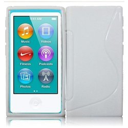 HR Wireless iPod nano 7 Rubberized Protective Cover (White)