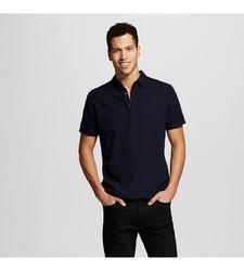 Mossimo Men's Linen Shirt - Navy - Size: X-Large