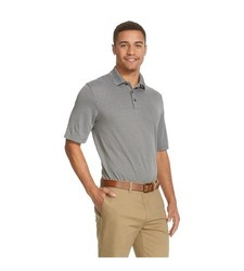 C9 Champion Men's Short Sleeve Polo Shirt - Charcoal Heather - Size: XL
