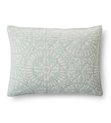 Threshold Tile Medallion Pillow Quilt Sham - Multi - Size: King