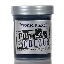 Jerome Russell Punky Hair Color Creme - Midnight Blue - 3.5 Oz