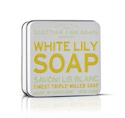 Scottish Fine Soaps Vintage Fragrances Soaps in a Tin White Lily