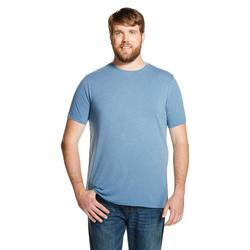 Mossimo Men's Short Sleeve T-Shirt - Blue Juice - Size: XLT