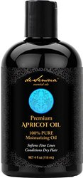 Apricot Kernel Oil - 100% Pure- Best For Massage, Moisturizing Skin and Hair, & Carrier Oil For Essential Oils, 4 oz