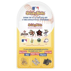 Pangea Brands MLB Houston Astros Shrinky Dinks