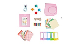 FujiFilm Instax Mini 8 Camera Accessory Kit - Pink