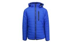 Spire By Galaxy Men's Puffer Jacket - Royal & Black - Size: XL
