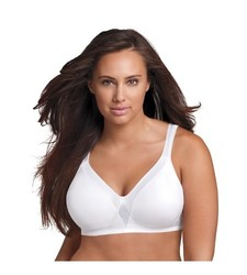 Playtex 18 Hour Women's Sensationally Sleek Wireless Bra - White - Sz: 38C
